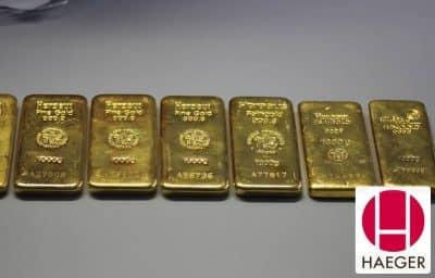Hier können Sie Goldbarren verkaufen