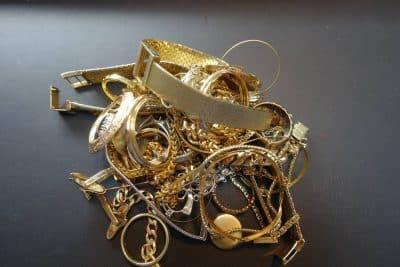 Sie wollen Altgold und Goldschrott verkaufen