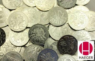 Wir kaufen ihre Palladiummünzen