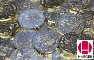 Nutzen Sie den Silbermünzenankauf