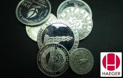 Hier können Sie Tafelsilber und Silbermünzen sofort verkaufen