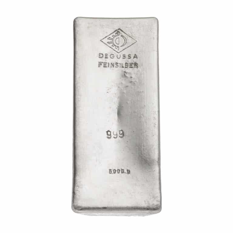 5000g-Silberbarren