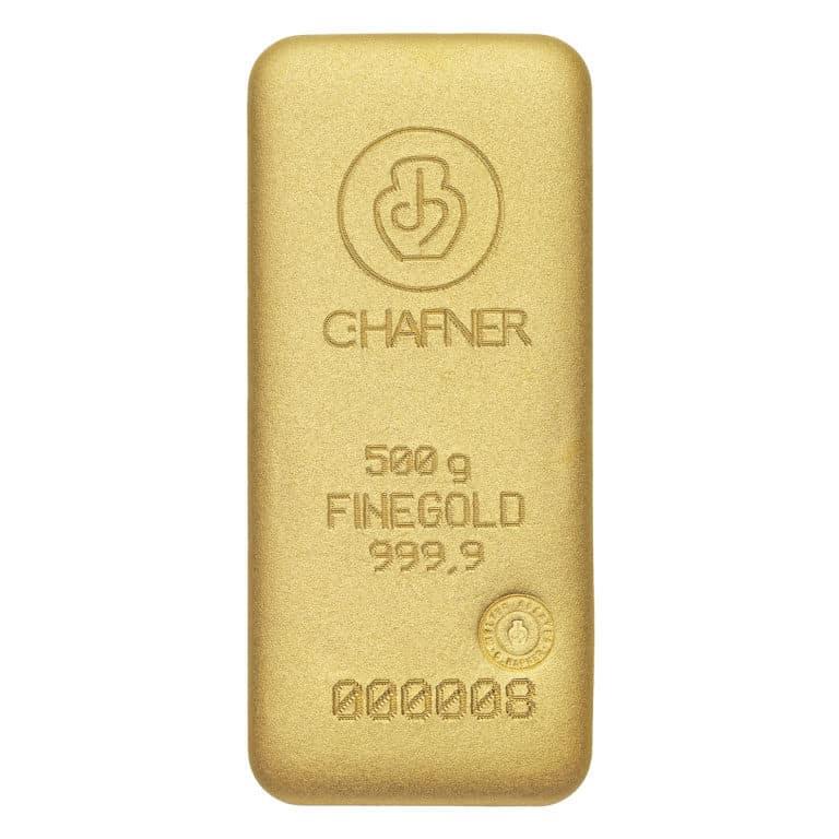 500g-Goldbarren