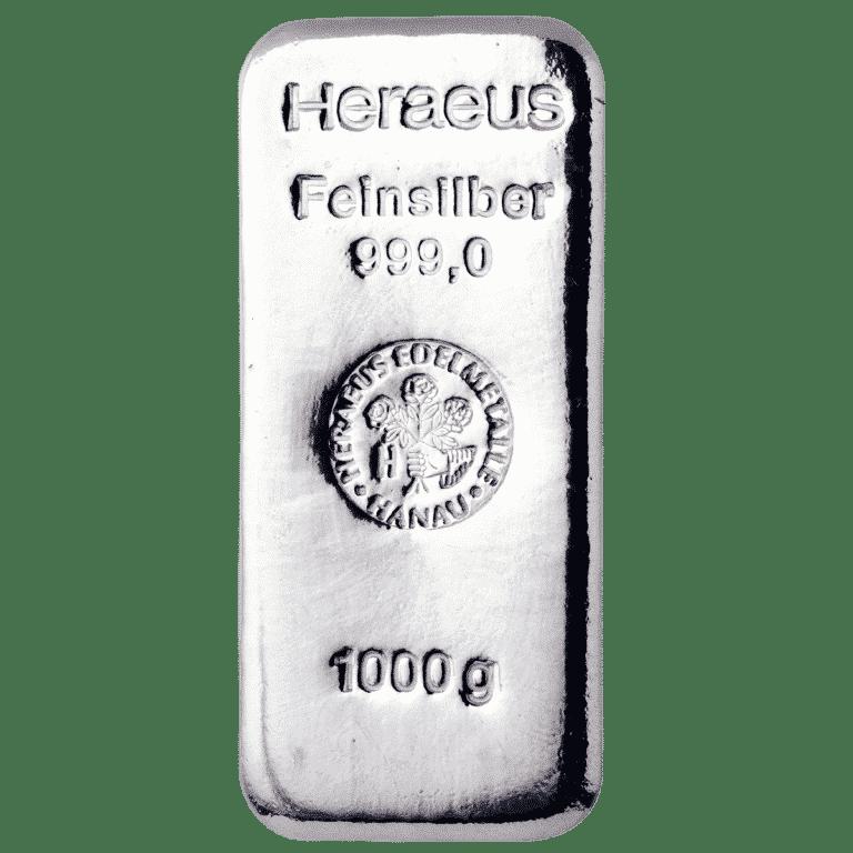 1000g-Silberbarren