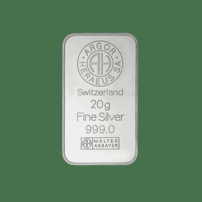 20g-Silberbarren