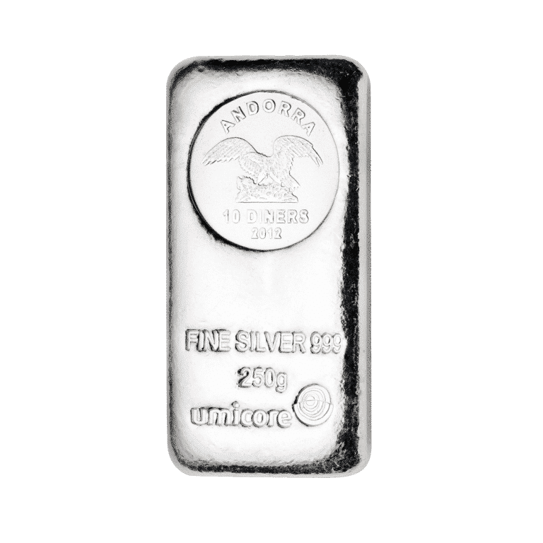 250g-Silberbarren