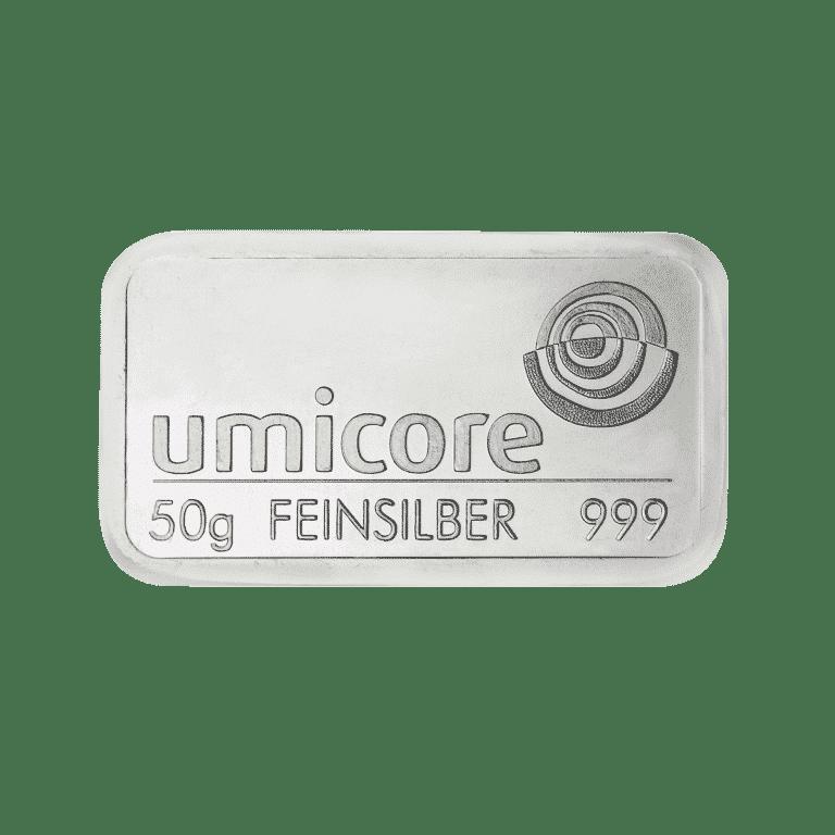 50g-Silberbarren
