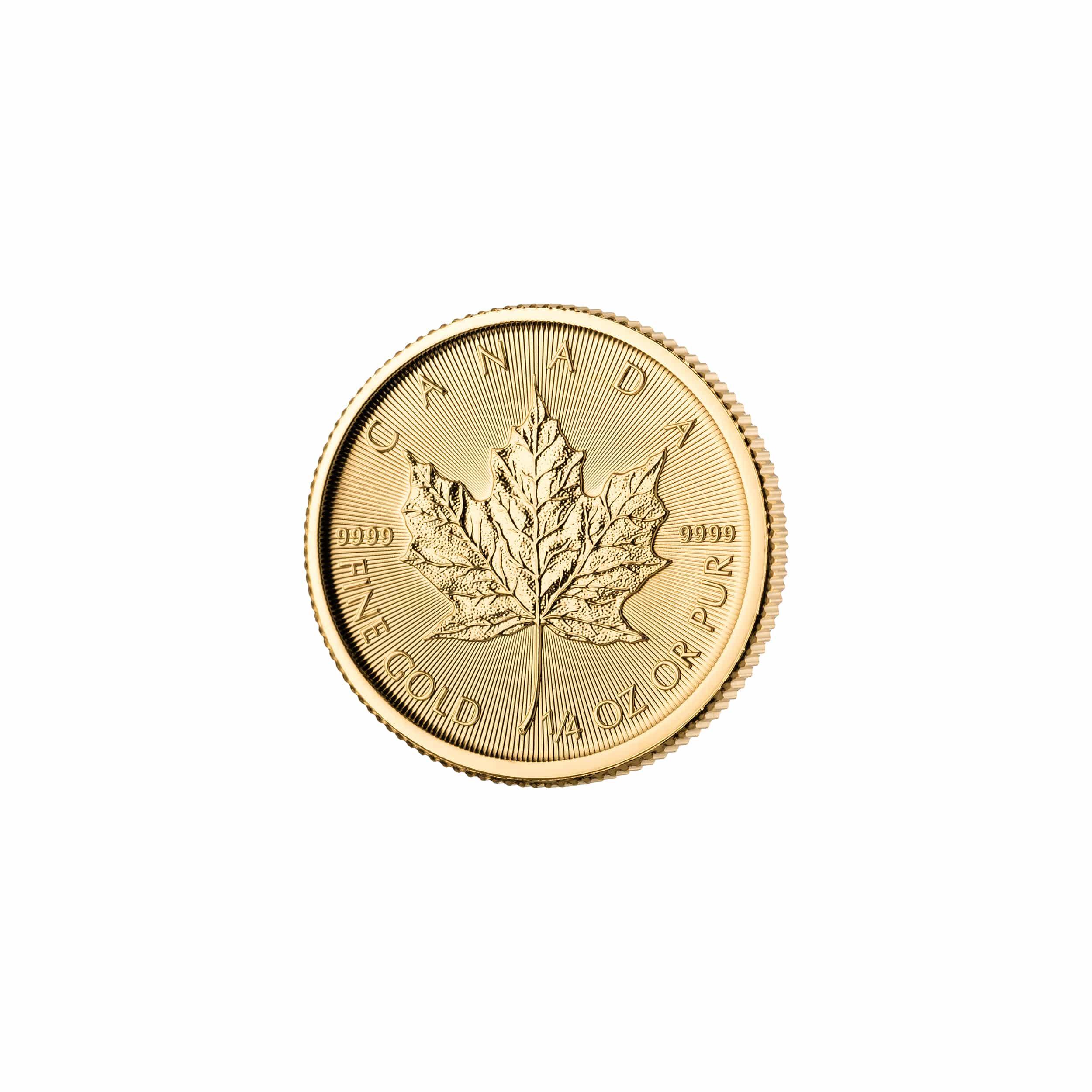 Maple Leaf Goldmünzen Kaufen Haeger Gmbh