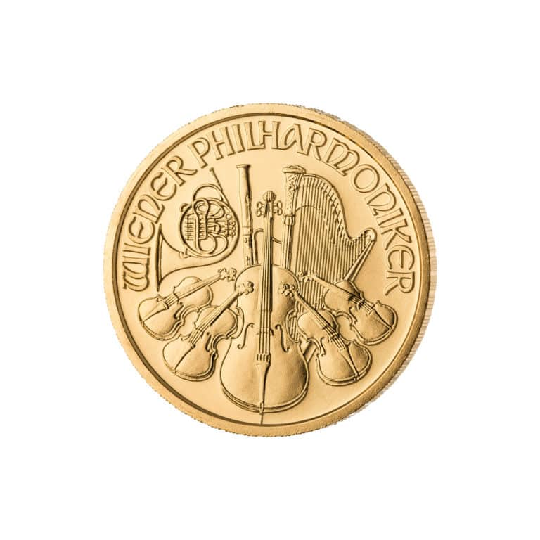 1/2-Goldunze-Wiener-Philharmoniker