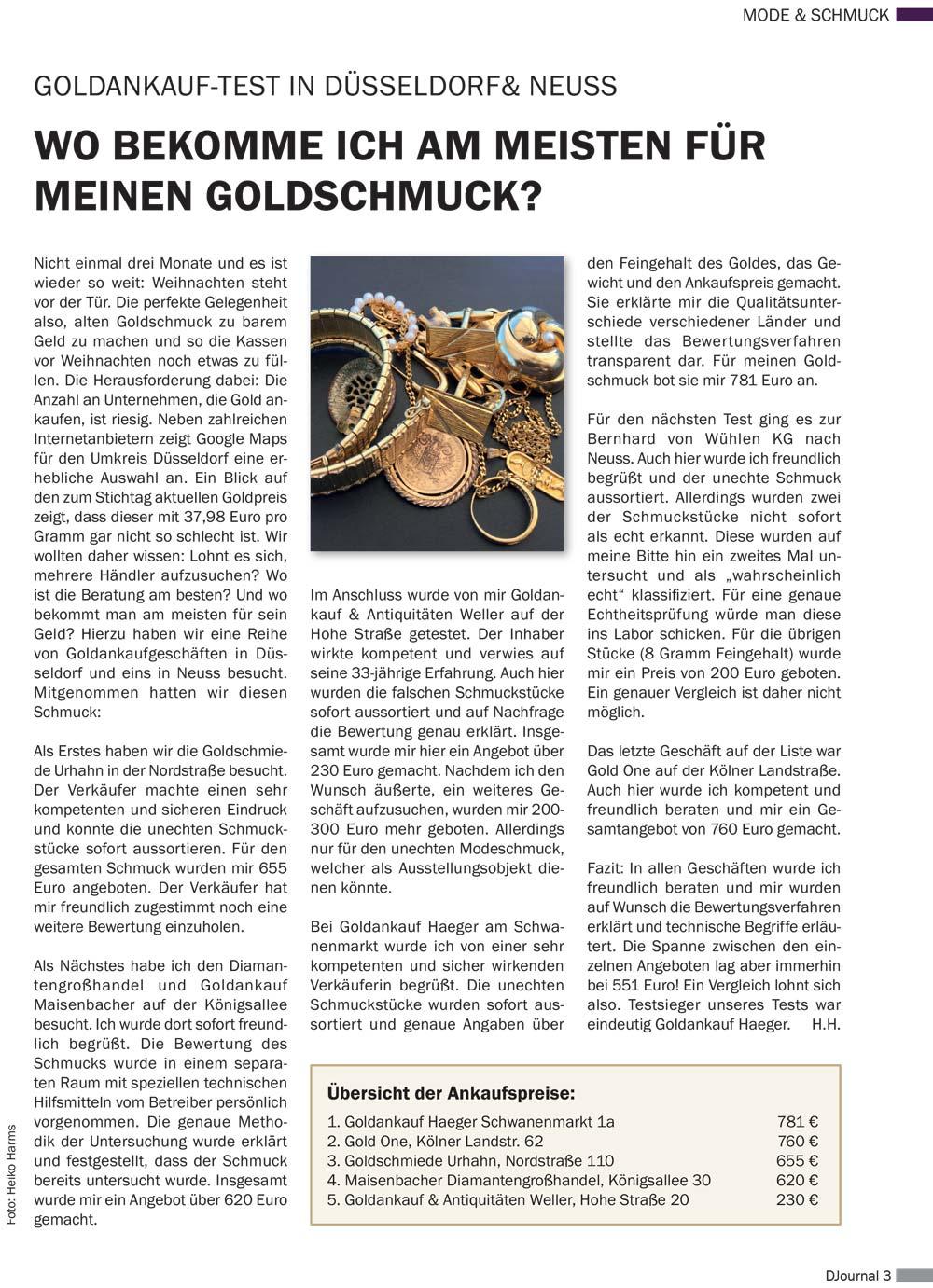 Die Haeger GmbH im Djournal