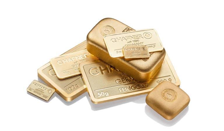 Jetzt einen Goldbarren kaufen