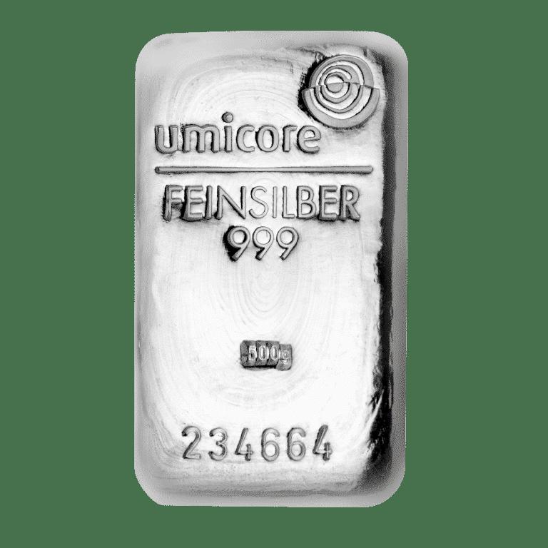 100g-Silberbarren