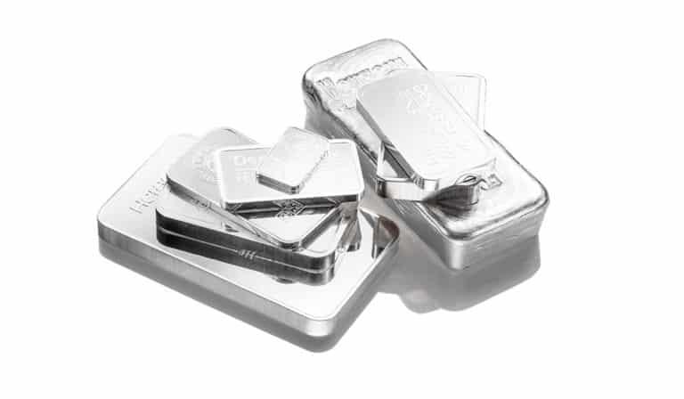 Bei uns können SIe Silberbarren kaufen