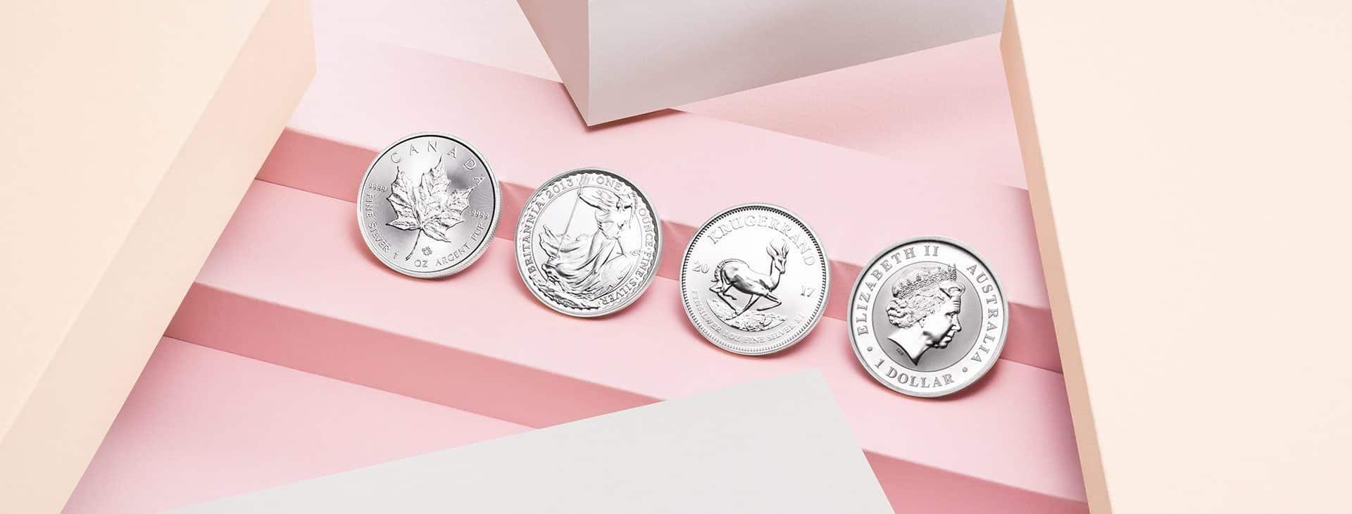 Australian Kangaroo Silbermünzen kaufen