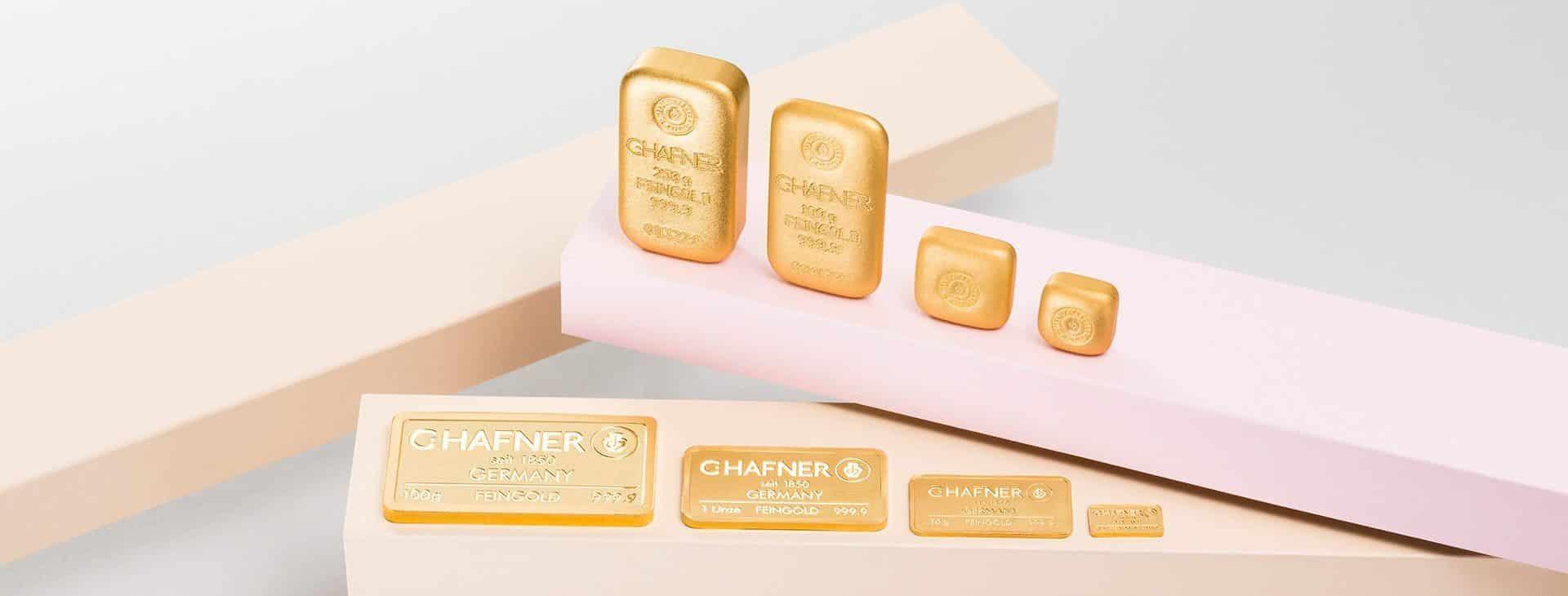 Goldbarren kaufen Krefeld