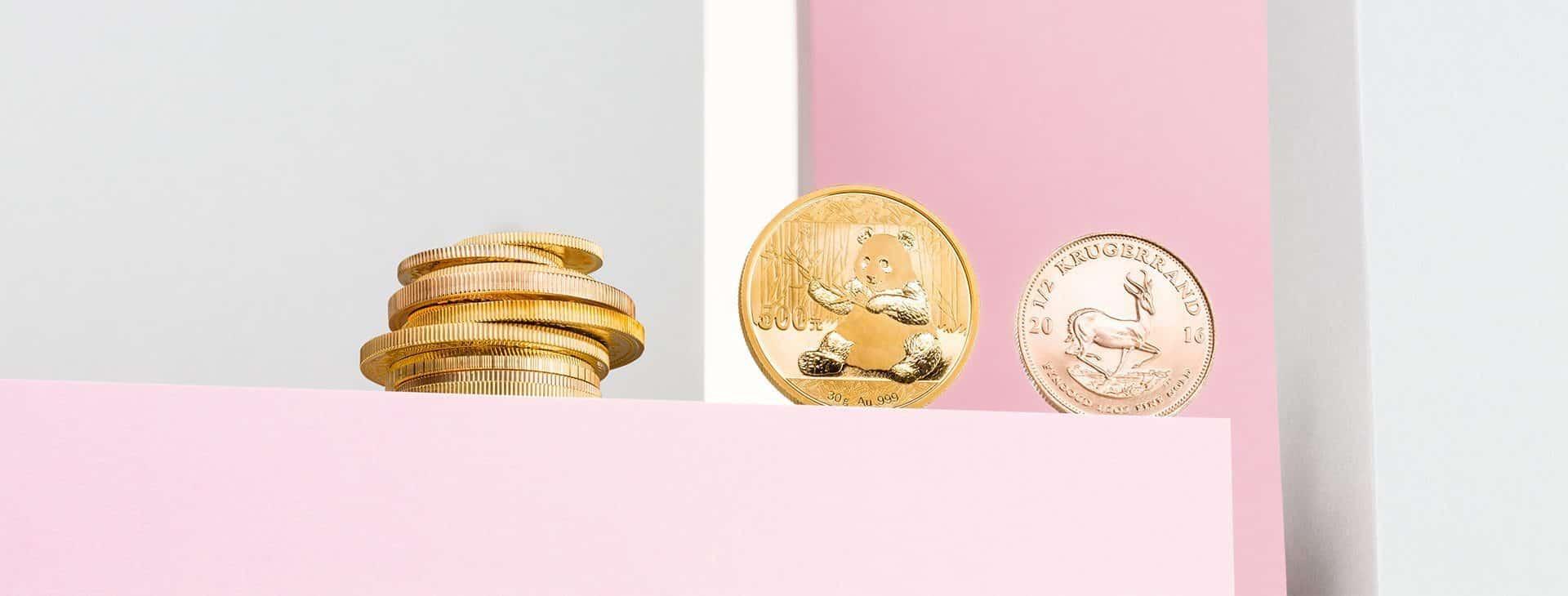 Goldmünzen kaufen Köln