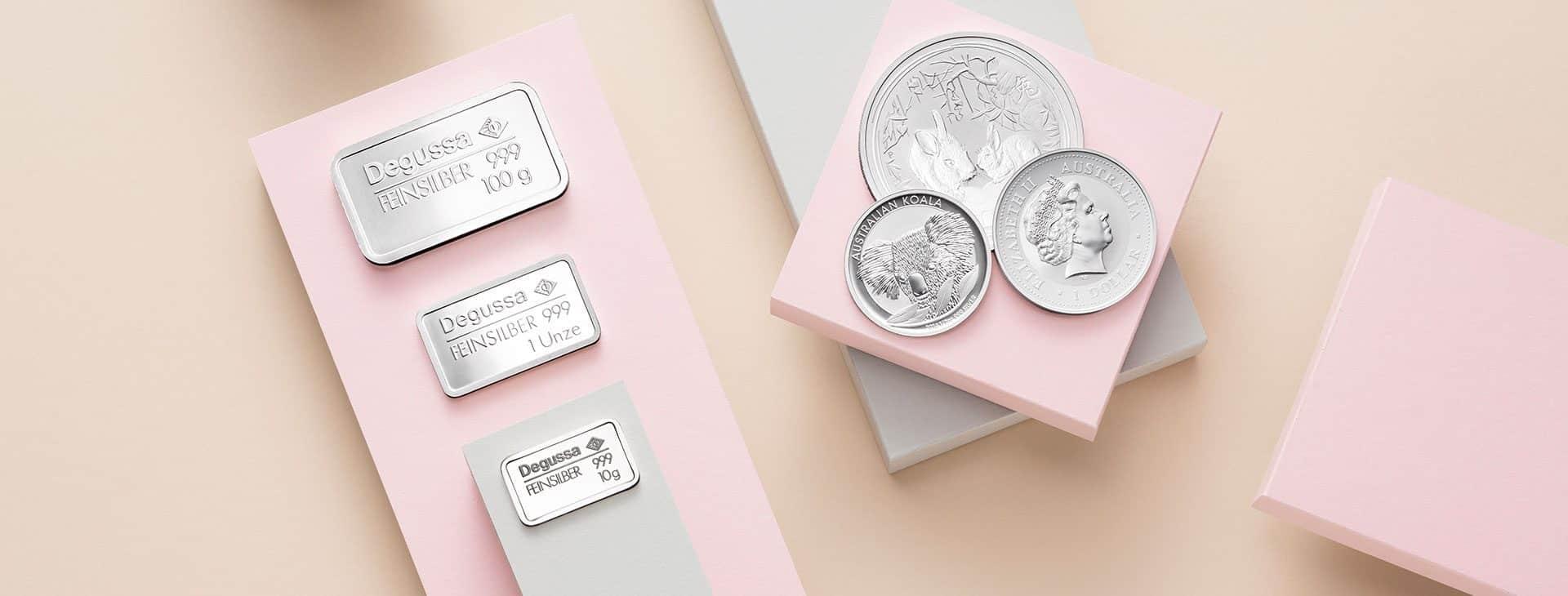 Silber kaufen Aachen