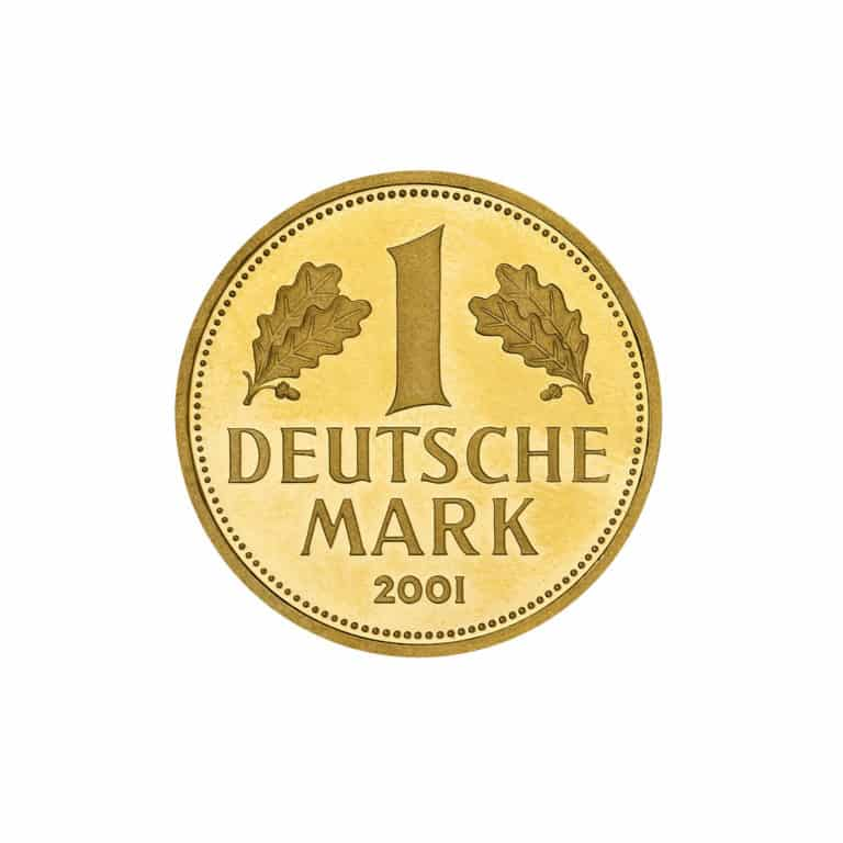 1-DM-Goldmünze